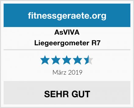 AsVIVA Liegeergometer R7 Test