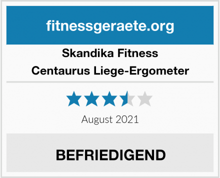 Skandika Fitness Centaurus Liege-Ergometer Test