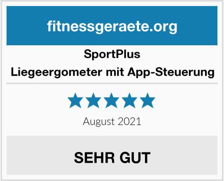 SportPlus Liegeergometer mit App-Steuerung Test