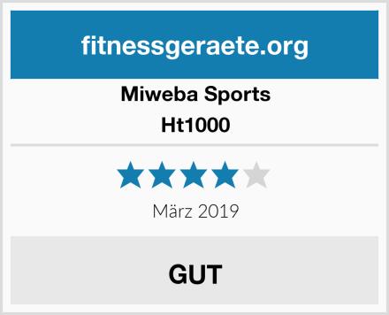 Miweba Sports Ht1000 Test
