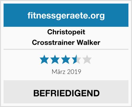 Christopeit Crosstrainer Walker Test