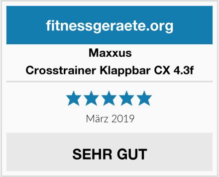 Maxxus Crosstrainer Klappbar CX 4.3f Test