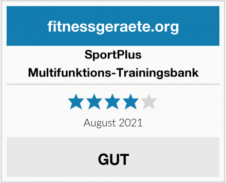 SportPlus Multifunktions-Trainingsbank Test