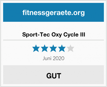 Sport-Tec Oxy Cycle III Test