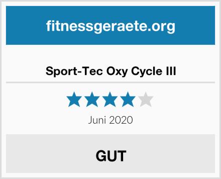 Sport-Tec Oxy Cycle III Test