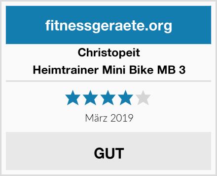 Christopeit Heimtrainer Mini Bike MB 3 Test