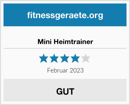 Mini Heimtrainer Test