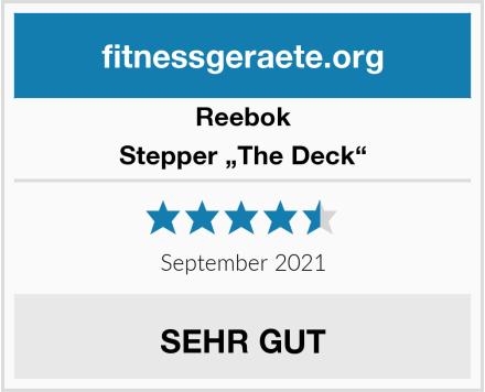 """Reebok Stepper """"The Deck"""" Test"""