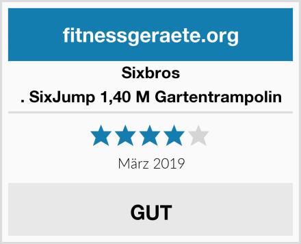 Sixbros . SixJump 1,40 M Gartentrampolin Test