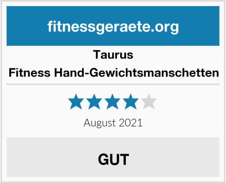 Taurus Fitness Hand-Gewichtsmanschetten Test