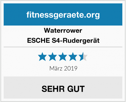 Waterrower ESCHE S4-Rudergerät Test