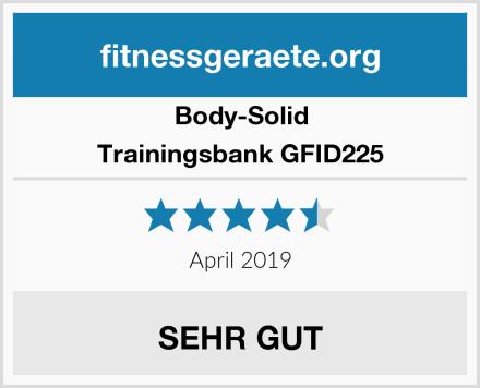 Body-Solid Trainingsbank GFID225 Test