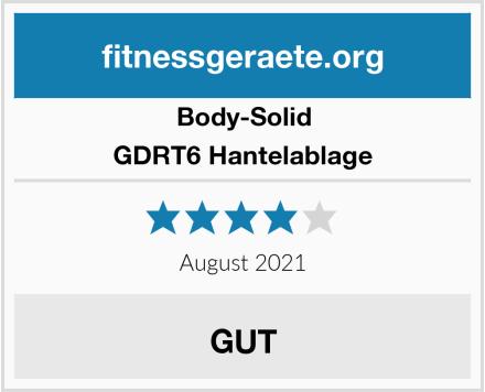 Body-Solid GDRT6 Hantelablage Test