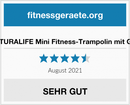 NATURALIFE Mini Fitness-Trampolin mit Griff Test