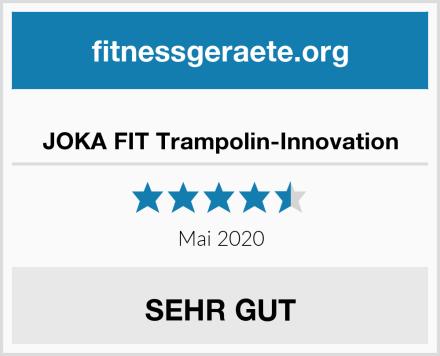 JOKA FIT Trampolin-Innovation Test