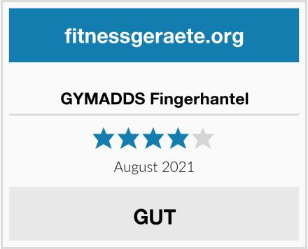 GYMADDS Fingerhantel Test
