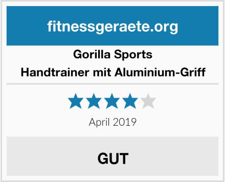 Gorilla Sports Handtrainer mit Aluminium-Griff Test