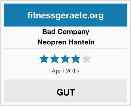 Bad Company Neopren Hanteln Test