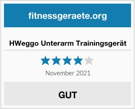 HWeggo Unterarm Trainingsgerät Test