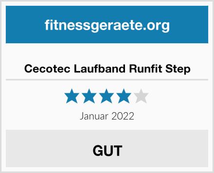 Cecotec Laufband Runfit Step Test