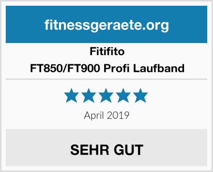 Fitifito FT850/FT900 Profi Laufband Test