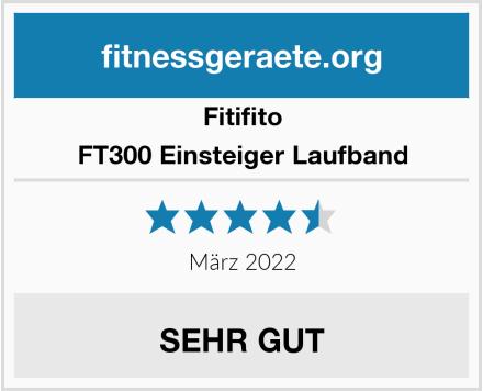 Fitifito FT300 Einsteiger Laufband Test