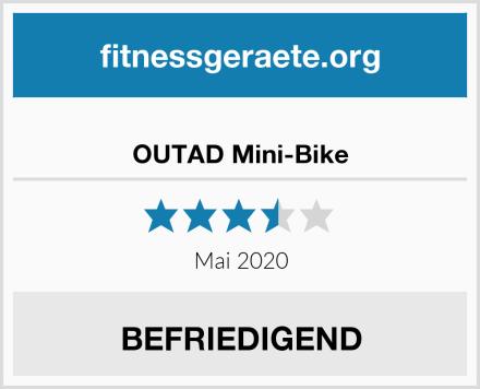 OUTAD Mini-Bike Test