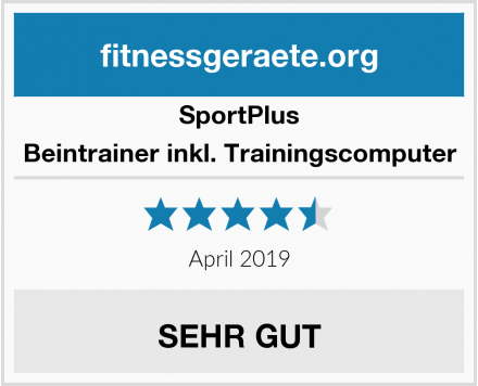 SportPlus Beintrainer inkl. Trainingscomputer Test
