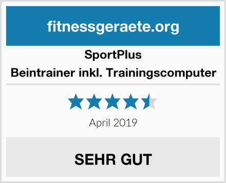 SportPlus Beintrainer inkl. Trainingscomputer Test