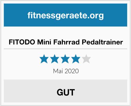 FITODO Mini Fahrrad Pedaltrainer Test