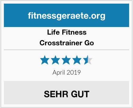 Life Fitness Crosstrainer Go Test