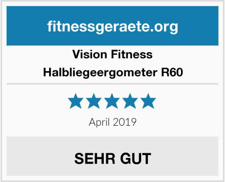 Vision Fitness Halbliegeergometer R60 Test