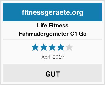 Life Fitness Fahrradergometer C1 Go Test