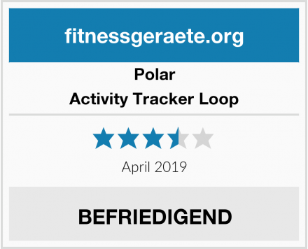Polar Activity Tracker Loop Test