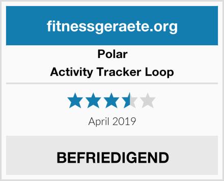 Polar Activity Tracker Loop Test