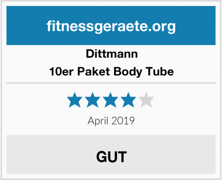 Dittmann 10er Paket Body Tube Test