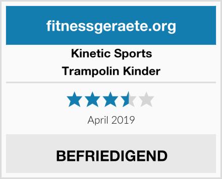 Kinetic Sports Trampolin Kinder Test
