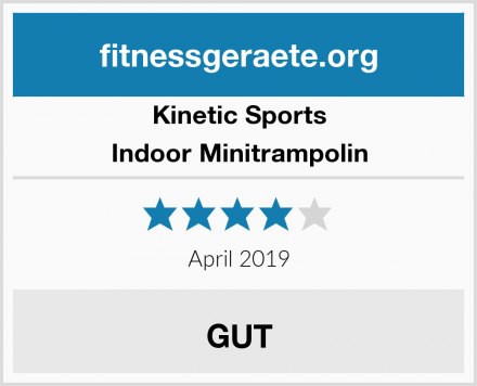 Kinetic Sports Indoor Minitrampolin Test