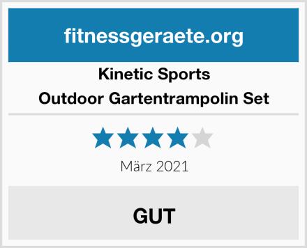 Kinetic Sports Outdoor Gartentrampolin Set Test