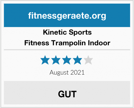 Kinetic Sports Fitness Trampolin Indoor Test