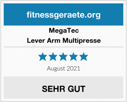 MegaTec Lever Arm Multipresse Test