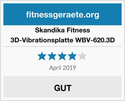 Skandika Fitness 3D-Vibrationsplatte WBV-620.3D Test