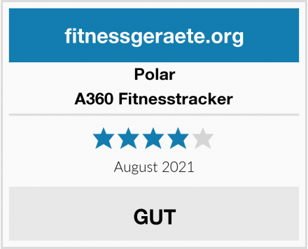 Polar A360 Fitnesstracker Test