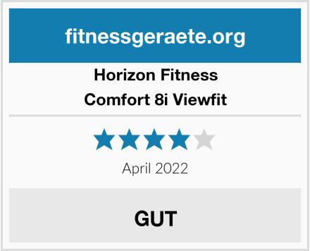 Horizon Fitness Comfort 8i Viewfit Test
