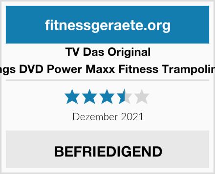 TV Das Original Trainings DVD Power Maxx Fitness Trampolin Basic Test