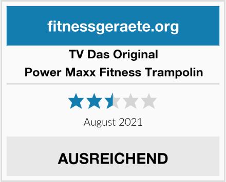 TV Das Original Power Maxx Fitness Trampolin Test