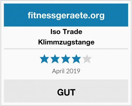 Iso Trade Klimmzugstange Test