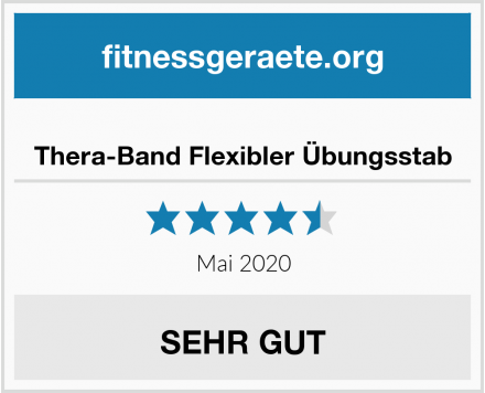Thera-Band Flexibler Übungsstab Test