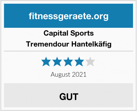 Capital Sports Tremendour Hantelkäfig Test