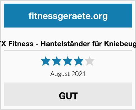 DTX Fitness - Hantelständer für Kniebeugen Test